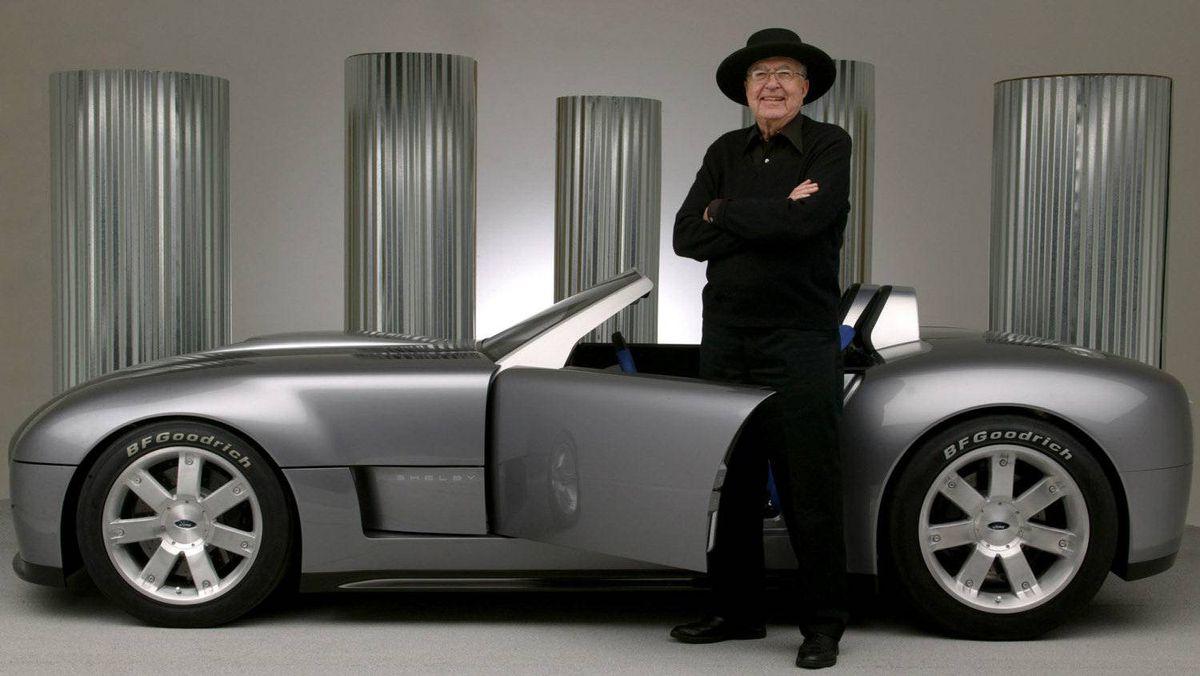 The Shelby Cobra Concept.