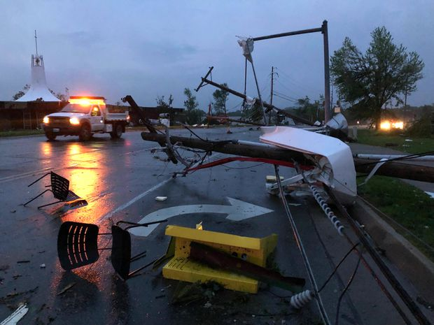 At least three dead after tornado causes heavy damage in Missouri's capital