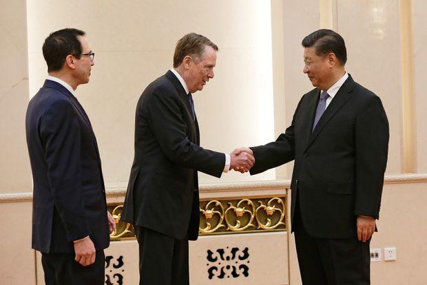 China-U.S. trade talks 'making a final sprint,' state media reports