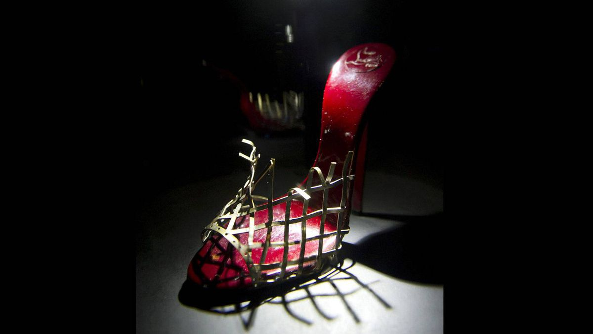 By putting a foot in a heel, 'you are putting yourself in a possibly orgasmic situation,' Louboutin once said.