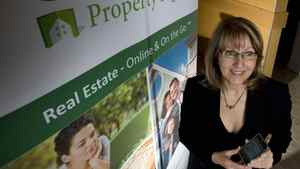 Karen Thompson, president of Canaterra Property Pages in Kelowna, B.C.