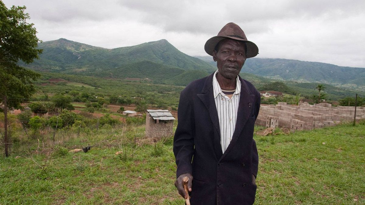 Solomon Nkambule, 70, has not been regularly receiving his monthly grants, which the state is to provide to pensioners. But he won't complain, and says he is thankful for what the king gives him.