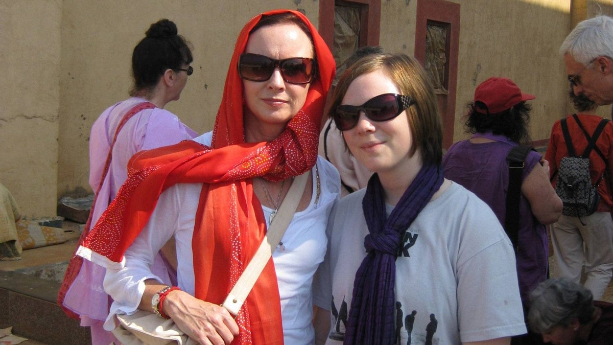 Canadian Helen Connolly, 49, and American Naomi Scherr, 13, are seen here during a 2008 meditation retreat to Mumbai. Terrorist gunmen attacked the Oberoi Hotel where they were staying. Ms. Connolly survived the onslaught but the teenager was killed.