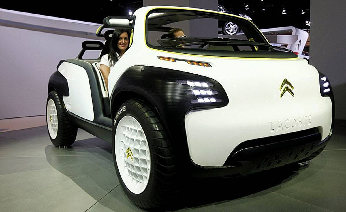 Citroen Lacoste City concept car