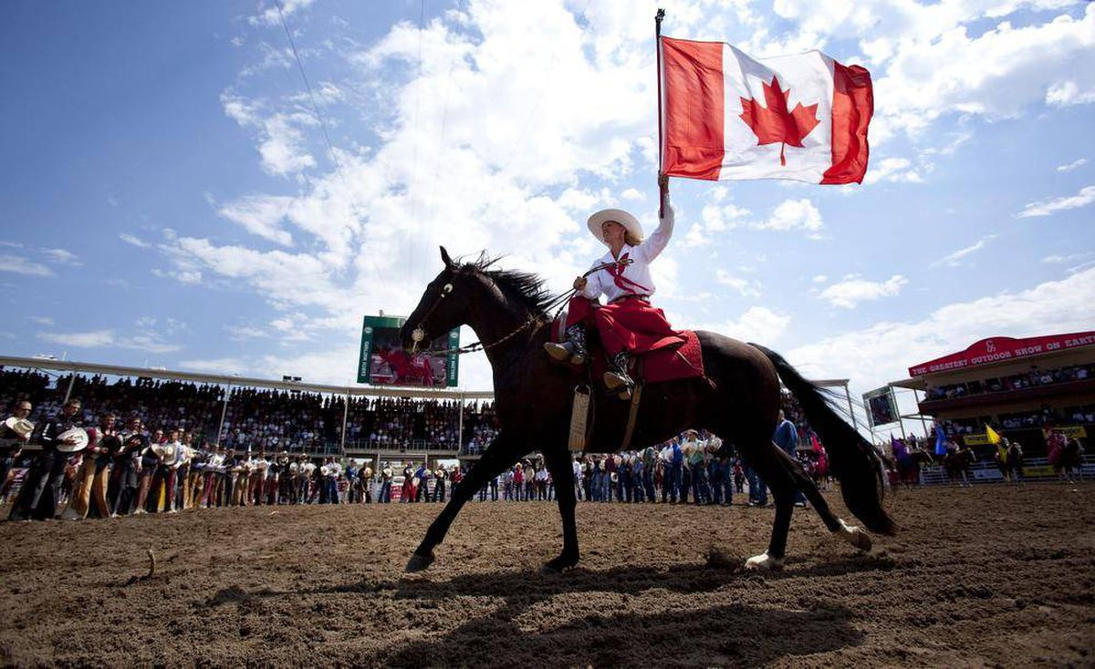 Stampede Calgary S Cash Cow The Globe And Mail