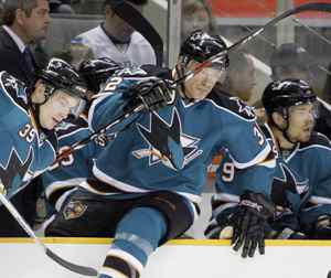 Claude Lemieux, seen going over the bench for a shift this past season, has announced his retirement for a second time.