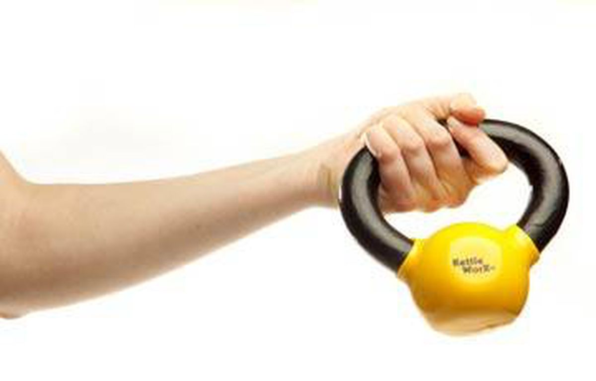 and Fitness KettleWorX Kettleball Weight for Strength Training Conditioning