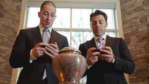 Eric Vandermeersch, CEO, and Dominic Mazzone, chairman, of Basic Funerals and Cremation Choices, are seen at St. John's Dixie Cemetery and Crematorium in Mississauga on March 21, 2011.