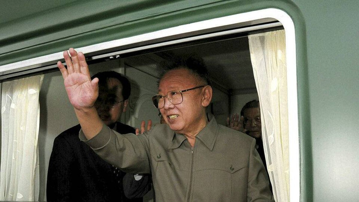 A May, 2010, handout photograph of reclusive North Korean dicator Kim Jong-Il.