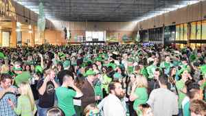St. Party's Day crowd