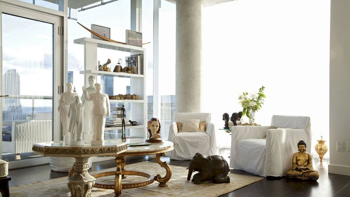 Robin Kay's living room