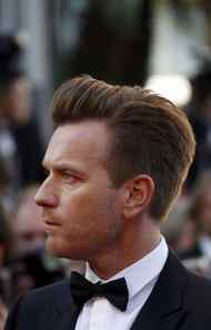 "Ewan McGregor demonstrates some real Cannes 'do on the red carpet for the film ""Moonrise Kingdom"" at Cannes Film Festival on Tuesday."
