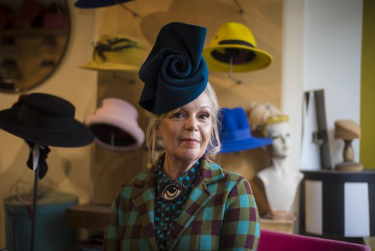 Karyn Ruiz of Lilliput Hats on 30 years of master millinery