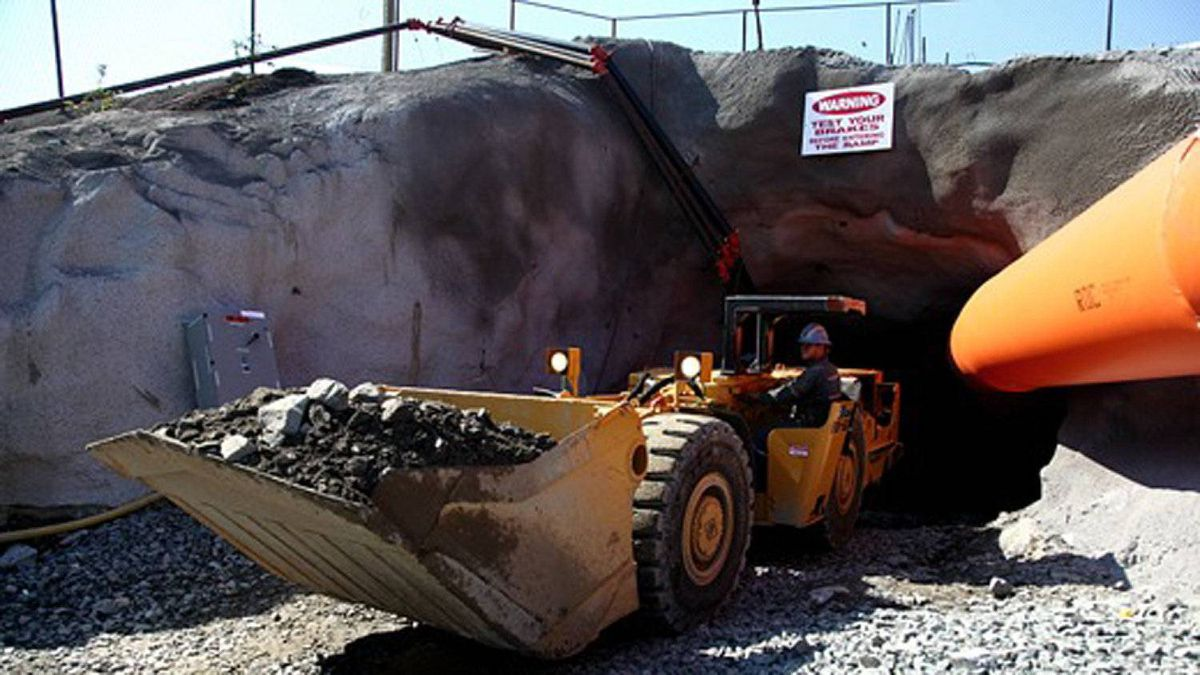 Operations under way at Trelawney Mining's Chester project, which includes the Côté Lake gold deposit.