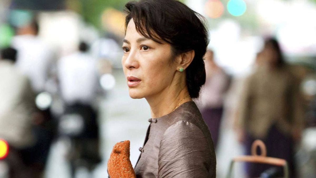 """Michelle Yeoh in a scene from Luc Besson's film """"The Lady"""""""