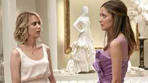 Kristen Wiig and Rose Byrne in Bridesmaids.