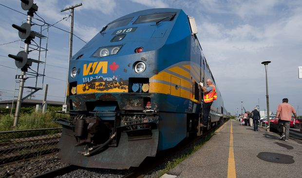 Canada Infrastructure Bank to work with Via Rail on high-frequency passenger rail plan