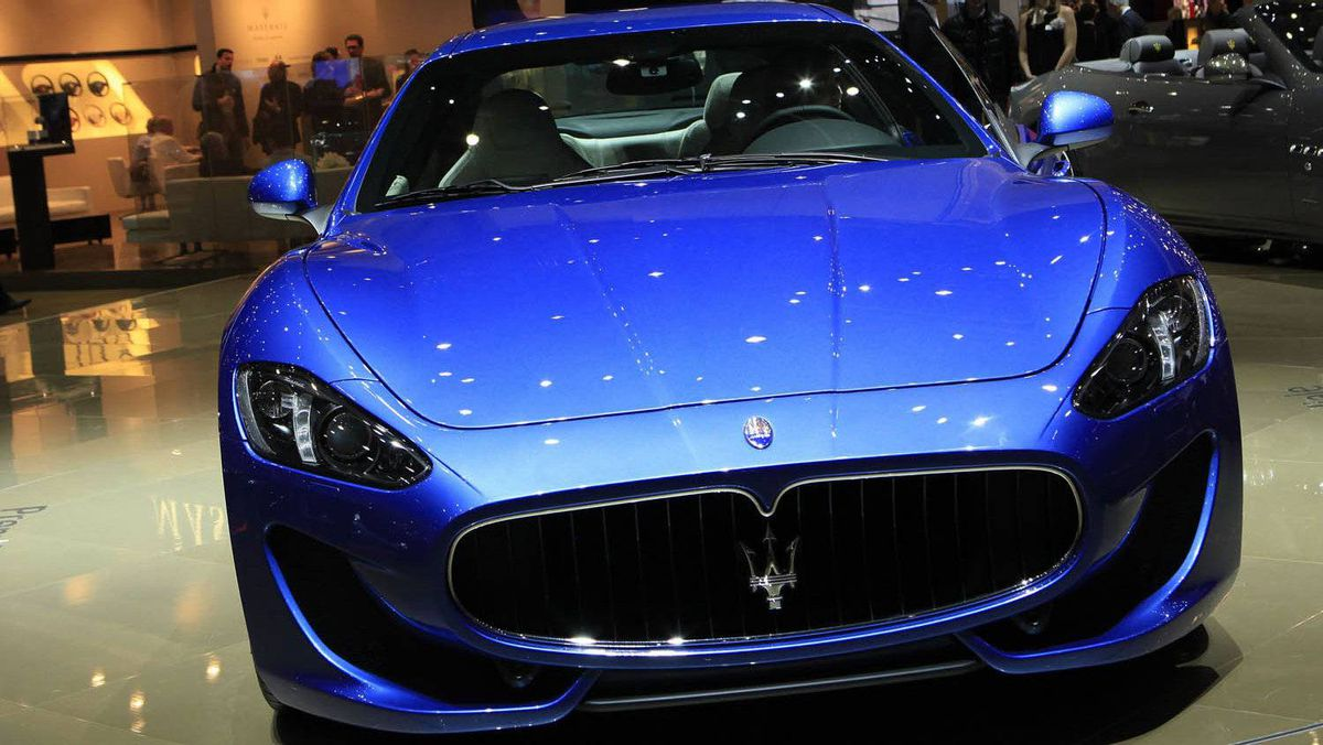The new Maserati GranTurismo Sport car, pictured during the second media day at the 82nd Geneva Auto Show.