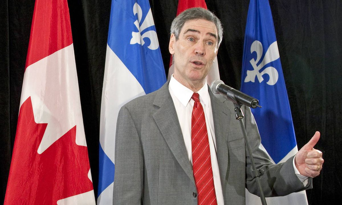 Michael Ignatieff responds Stephen Harper's musings about the Liberal Leader resurrecting a coalition during a Montreal news conference on Sept. 10, 2009.