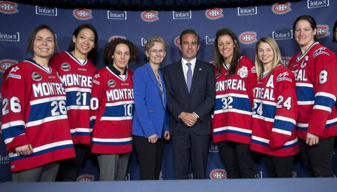 Canadiens partner with CWHL's Montreal Stars to grow women's game