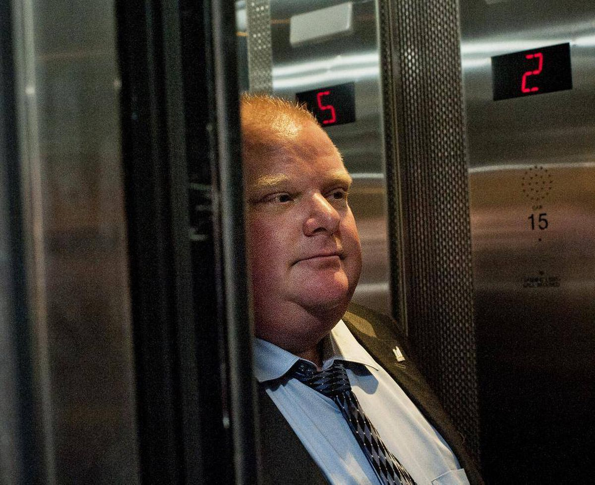 Toronto Mayor Rob Ford Responds To Police Raids The