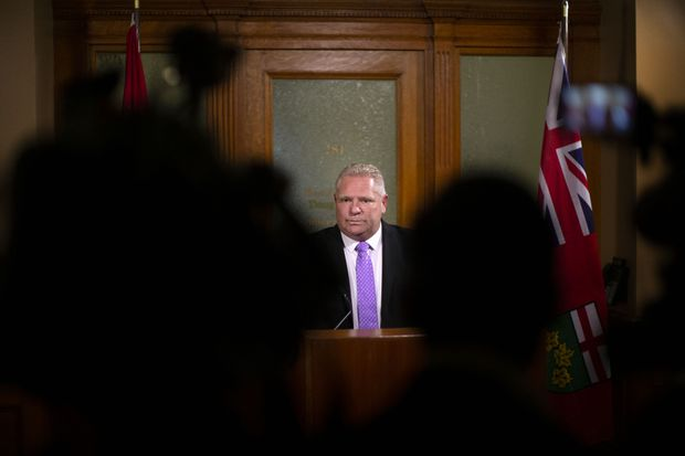 Ontario Premier Doug Ford defends $231-million cost of killing green-energy deals