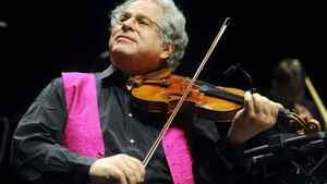 Israeli-American violin virtuoso Itzhak Perlman in 2009