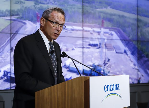 Encana shareholder to vote against proposal to exit Canada