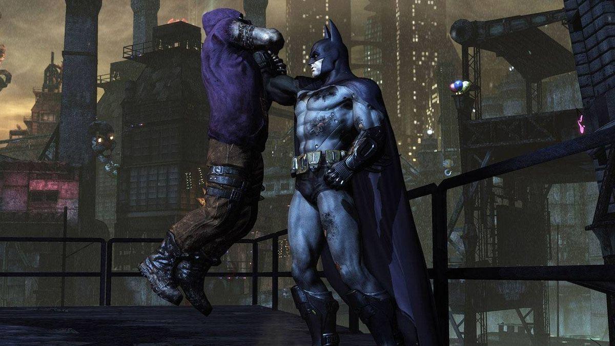 Screenshot from video game Batman: Arkham City