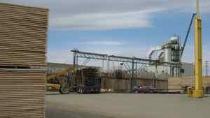Canfor Corp.'s Mackenzie mill.