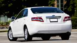 """The Camry almost qualified as a top safety pick, but in the end received a """"marginal"""" rating in a rear crash test: the seats and headrests provided less than desirable protection against whiplash."""