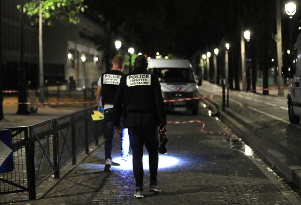 Two Britons among seven injured in Paris knife attack