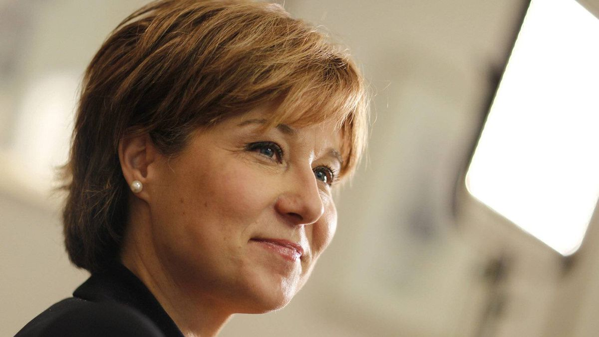 B.C. Premier Christy Clark during a meeting with the Editorial Board at The Globe and Mail on June 24, 2011.