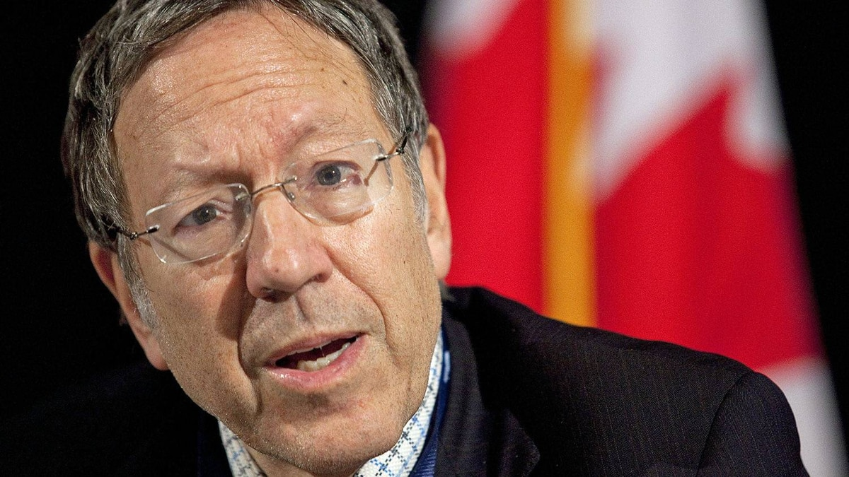 Irwin Cotler, the Liberal MP for Mount Royal, speaks during an anti-Semitism conference in Ottawa on Nov. 9, 2010.