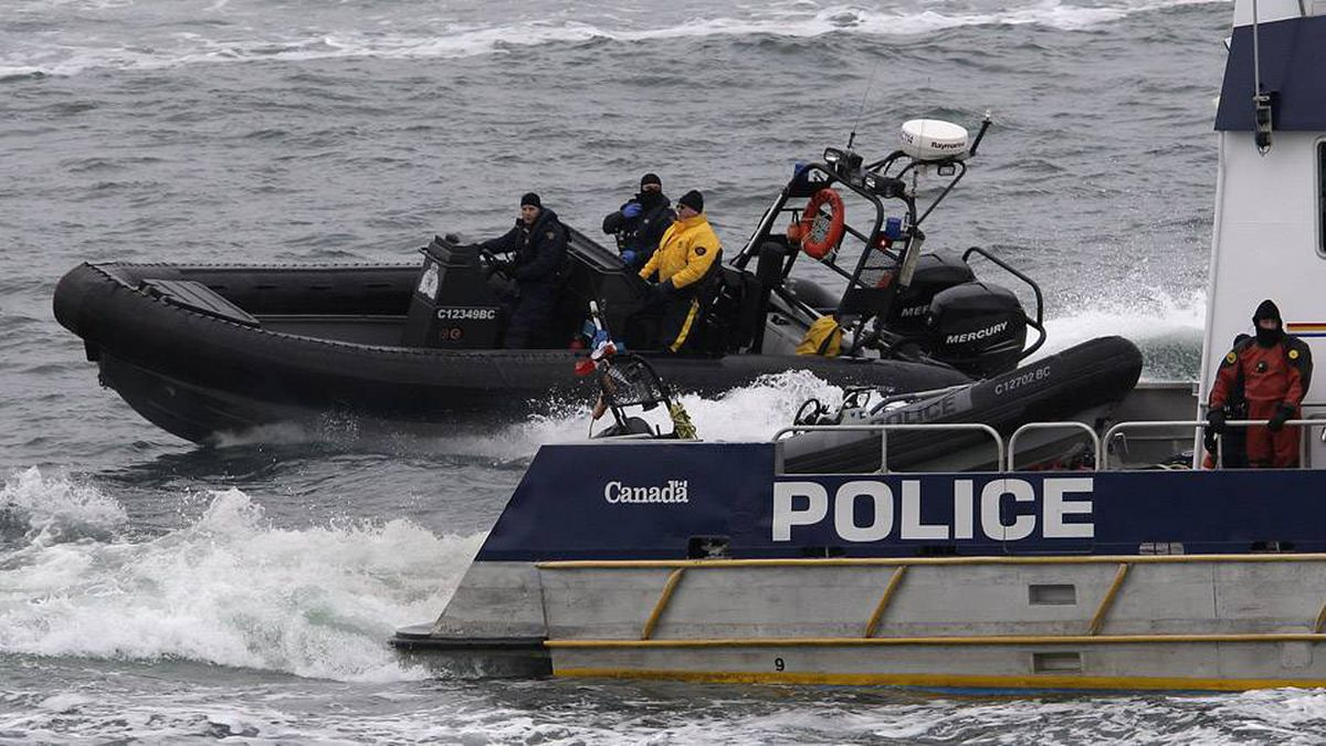RCMP takes part in Exercise Silver in Vancouver, BC, Febraury 10, 2009 along with the 2010 Integrated Security Unit and its public safety and security partners.