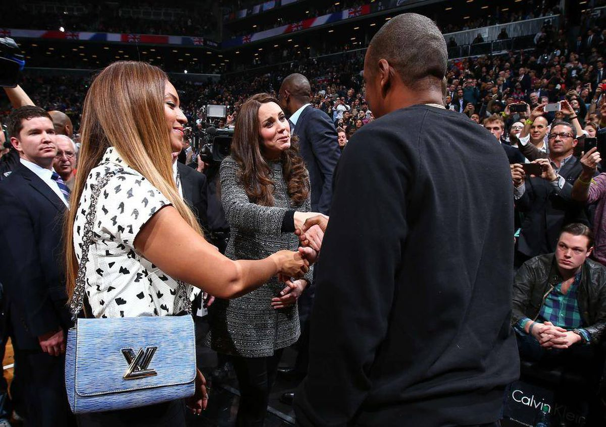 Now Trending Will And Kate Meet Beyonc And Jay Z At Nba Game The