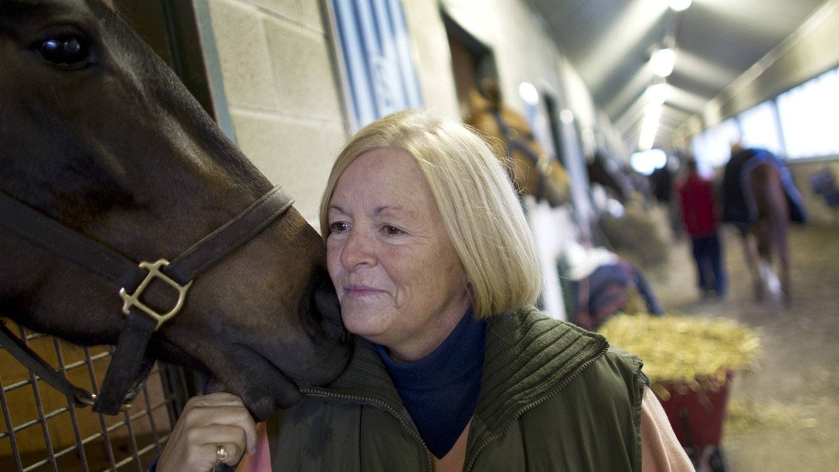 Sue Leslie is the owner and head trainer of Sue Leslie Stables at Woodbine Racetrack in Toronto.