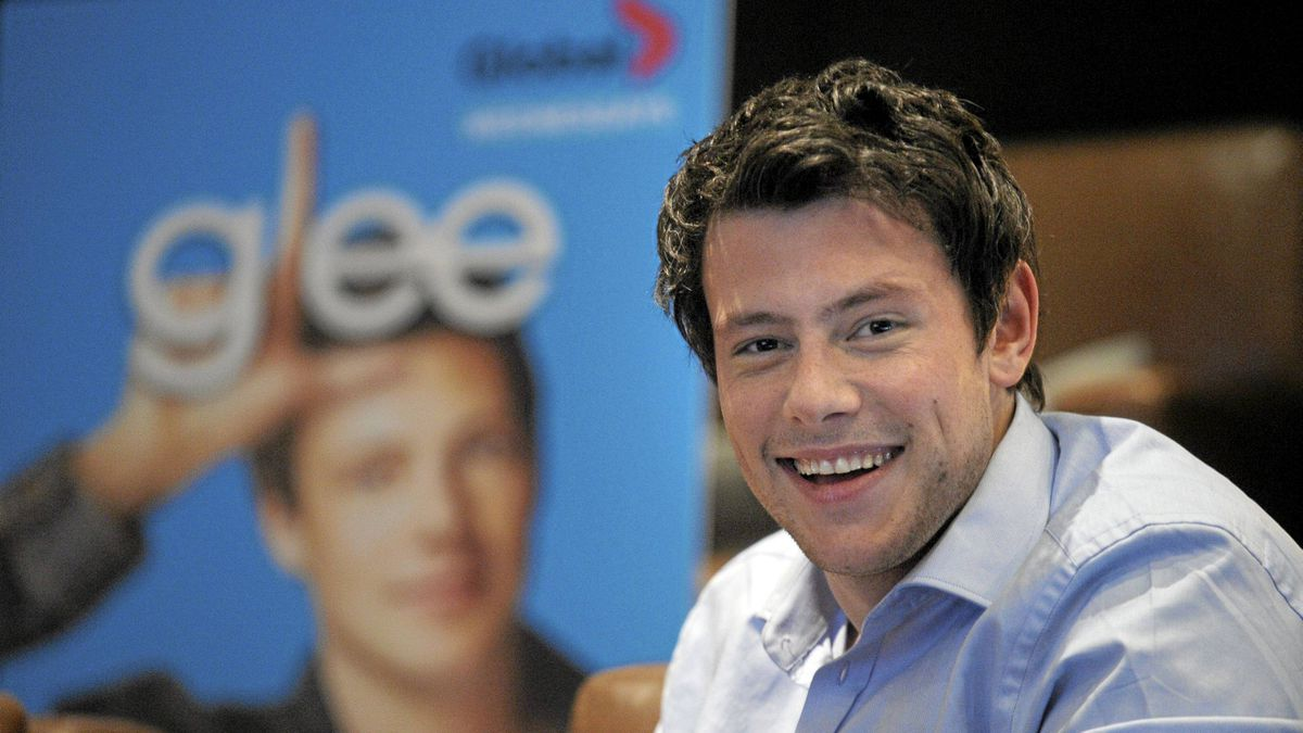 Corry Monteith of Glee.