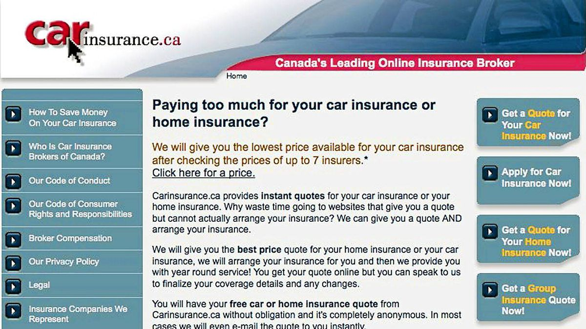 Life Insurance Quotes Compare The Market Three Ways To Compare Auto Insurance Quotes  The Globe And Mail
