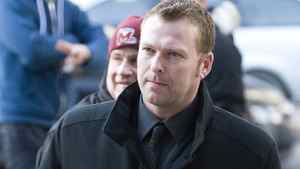 New Jersey Devils' goaltender Martin Brodeur attends the funeral of former NHL coach Pat Burns in Montreal, Monday, November 29, 2010. THE CANADIAN PRESS/Graham Hughes
