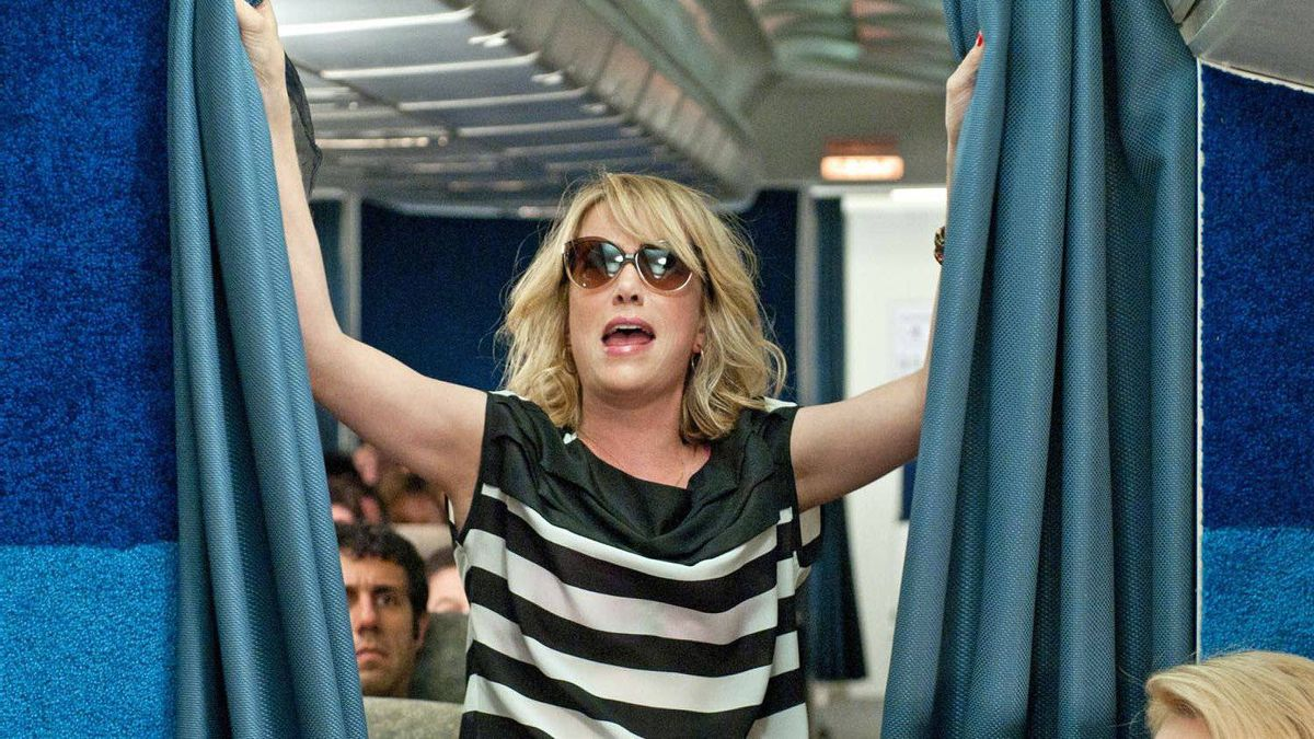 Kristen Wiig stars in Bridesmaids.