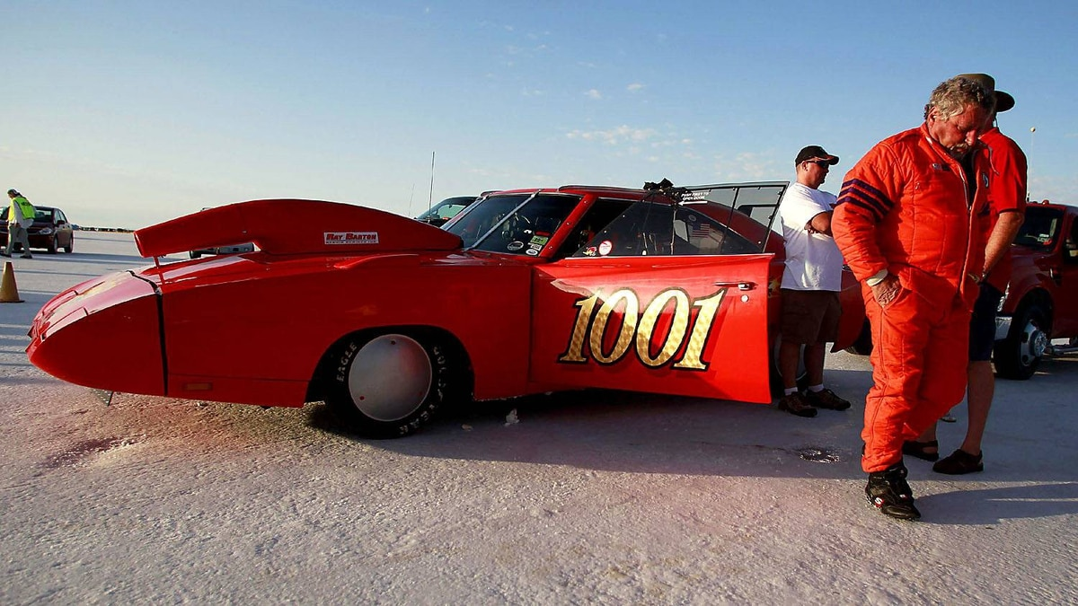 Lee Sicilio and his Daytona Charger