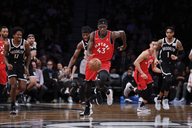 Siakam, Leonard lead Toronto over the Nets as Raptors look to match franchise win record