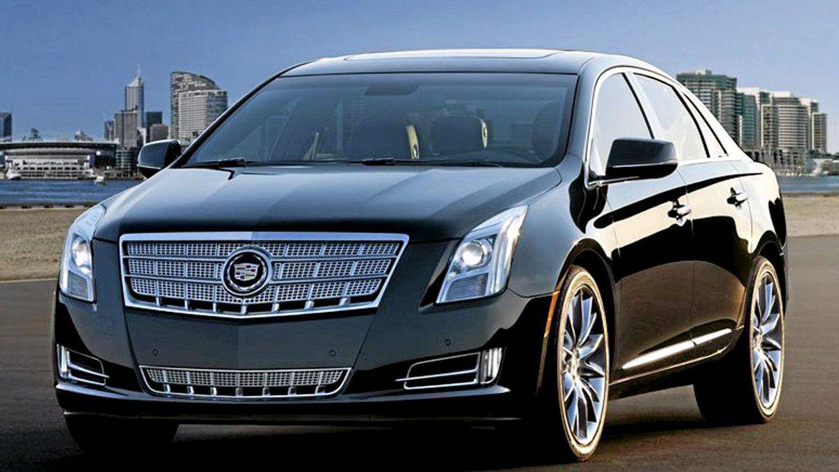 2012 Cadillac XTS.