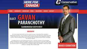 Before becoming the Conservative candidate in Scarborough Southwest, Gavan Paranchothy was known as Ragavan Paranchothy.