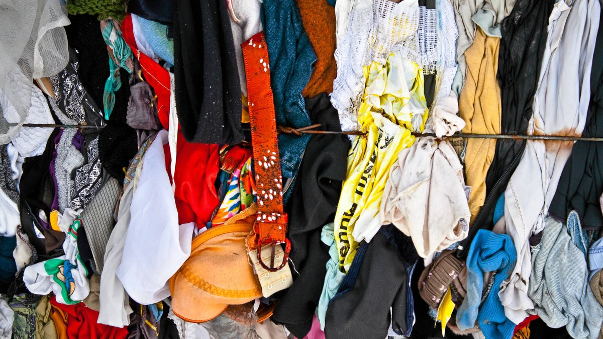 Unwanted clothes