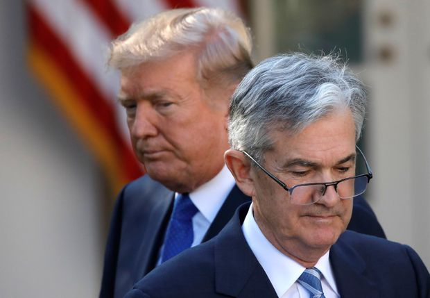 'Our bigger enemy': Trump escalates attack on Fed chief Jerome Powell