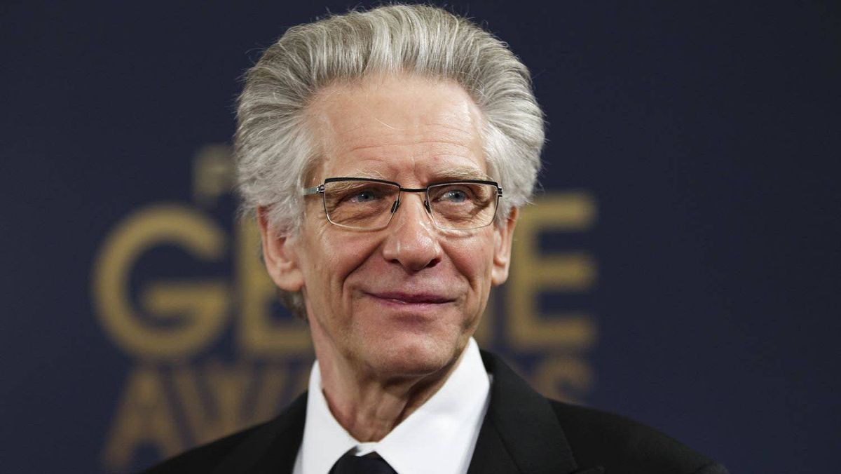 David Cronenberg, nominee for achievement in direction for A Dangerous Method.