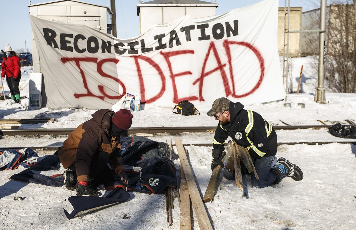 'Day 16: Justin Trudeau just made the speech that he should have made weeks ago.' Readers reflect on the week in pipeline protests and blockades across Canada