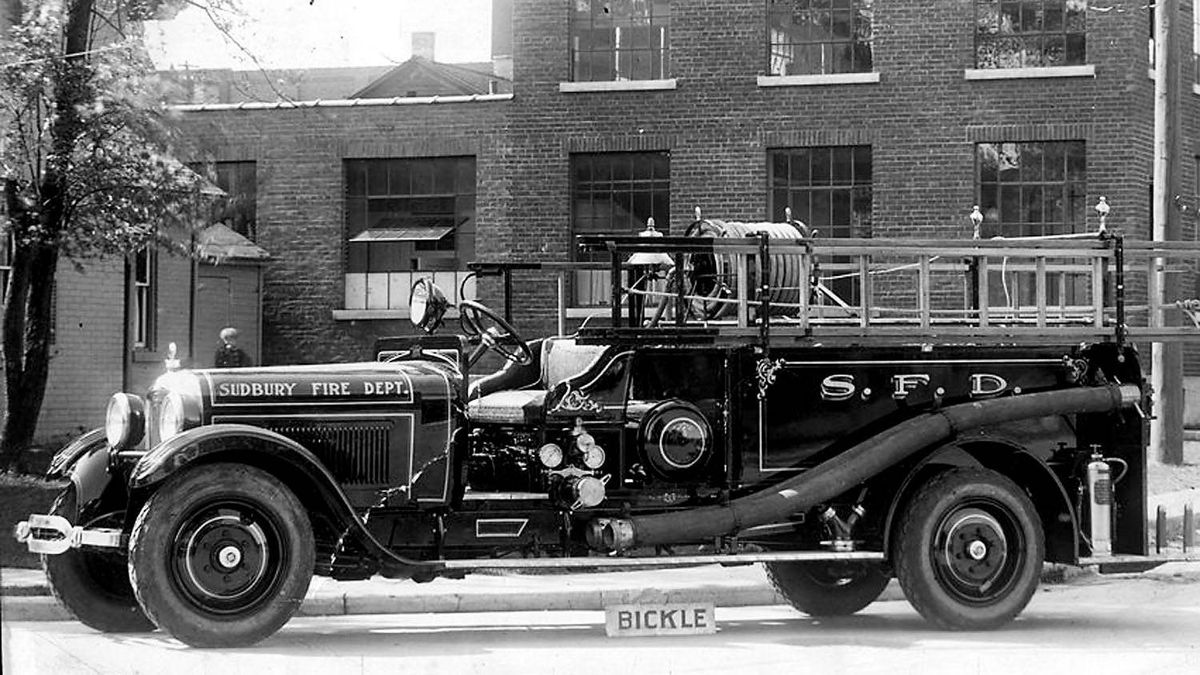 1926 Bickle Studebaker fresh out of the factory